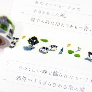 Animal Life shift Washi Tape Miniature Ranch Washi Tape