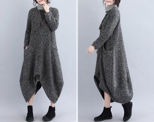 Casual Original Deformation Long Knitted Coat Cardigan