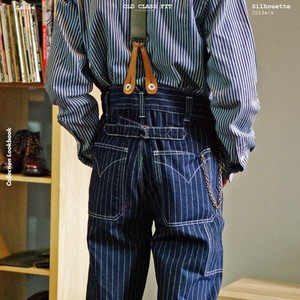 Denim Wide Inter Pants Model Vintage Candy