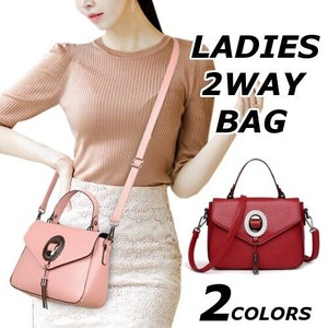 Shoulder Bag Ladies Handbag Handbag Diagonally Plain Trip Bag