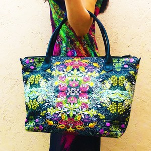 Handbag Midnight Garden