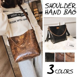 Shoulder Bag Ladies Handbag Diagonally Chain Bag Retro
