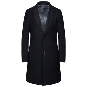 Men's Chesterfield Coat Business Jacket Tailored Jacket Coat Coat