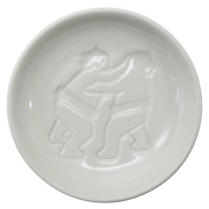 Sumo Porcelain Soy Sauce Plate Tightly