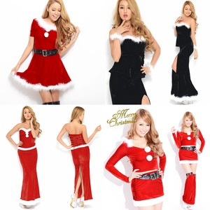 Santa Claus Santa Dress Long Santa Hats & Cap