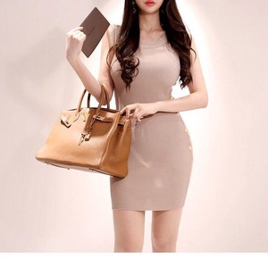 Knitted One-piece Dress Short One-piece Dress Sexy Wedding Party Dress