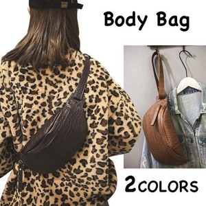 Body Bag Ladies Shoulder Bag Plain Sacosh Diagonally