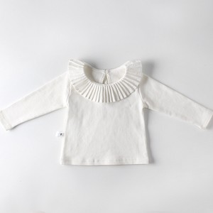 Girl Big Frill Baby T-shirt Top Long Sleeve Kids Baby Children's Clothing A/W