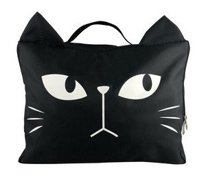 Period Storage Bag Black cat