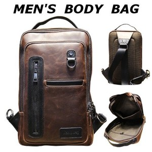 Body Bag Body Bag Men's Brand Shoulder Bag Leather