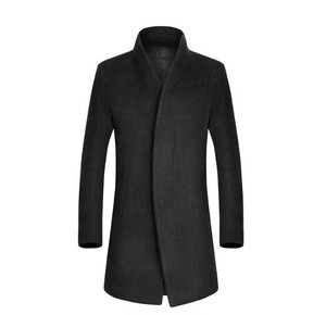 Men's Chesterfield Coat Business Jacket Tailored Jacket Coat Coat Thick