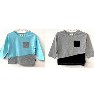 Boy Jersey Stretch Long Sleeve T-shirt