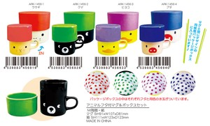 SHINZI KATOH Animal Attached Mug Box Set
