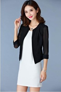 Ladies Commuting Thin Business Jacket Suits Jacket Formal Black