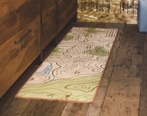Kitchen Mat Map Interior