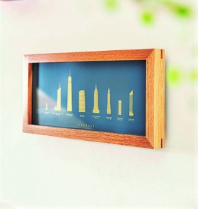 Art Frame Wall Hanging Product Wall Deco Interior Decoration and Land Mark
