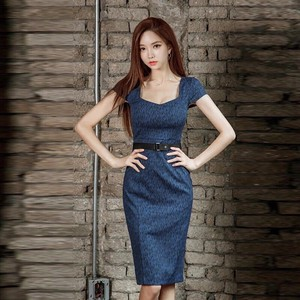 One-piece Dress One-piece Dress Sexy Office Lady Party Dress