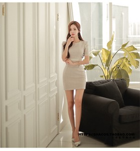 Ladies One-piece Dress One-piece Dress One-piece Dress One-piece Dress Sexy Office Lady