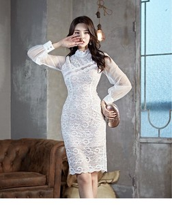 One-piece Dress Dress One-piece Dress Lace Party Dress One-piece Dress White