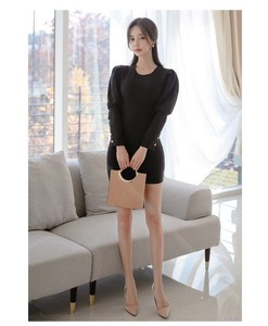 One-piece Dress Dress One-piece Dress Short Long Sleeve Semi-formal