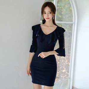 One-piece Dress Party Dress Ladies One-piece Dress Semi-formal