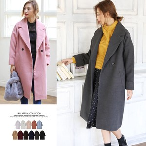 A/W Double Button Chesterfield Coat Outerwear