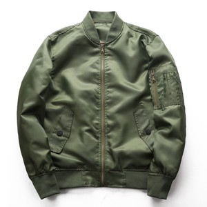 Green Fly Jacket Jacket Baseball Outer Men's Light Outer
