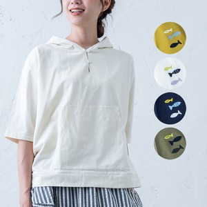 S/S 6/10Length Food Pullover