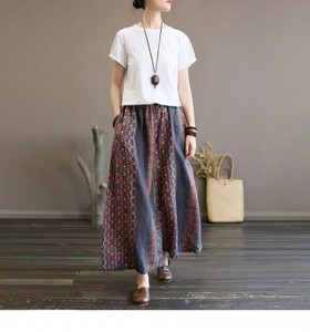 Coolness Sand Gaucho Pants Cropped Ankle Pants Culotte Pants