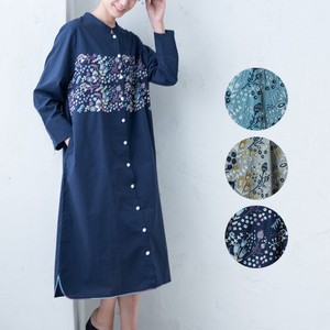 S/S Flower Embroidery Embroidery One-piece Dress [ 2020NewItem ]