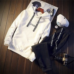 Men's Sweat Suit Set Men's Set White