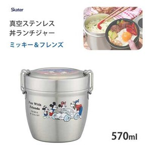 Donburi Bowl Lunch Vacuum Stainless Mick Friends SKATER