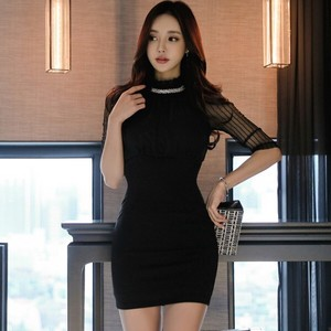 One-piece Dress Sexy One-piece Dress Short Medium Party Dress Elegance Office Lady