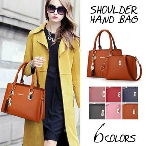 Handbag Ladies Business Bag Tote Bag Leather Commuting Going To School