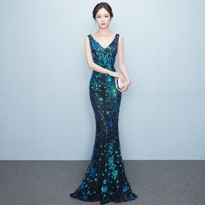 Concert Wedding Party Event Long Dress