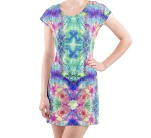 Casual One-piece Dress Rose Garden