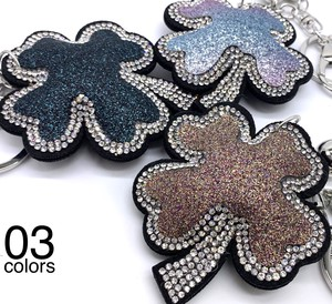 [ 2020NewItem ] Glitter lame Charm Key Ring Key Ring Bag Charm Mobile Phone Cleaner