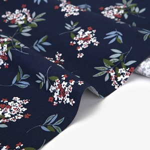 Fabric Navy Design Fabric Unit Cut Sales