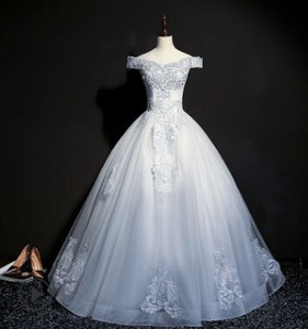 Attached Wedding Long Event Wedding Dress