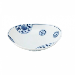 Flower Oval Plate MINO Ware