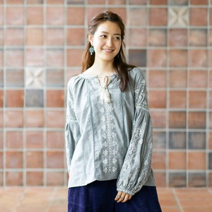 [2019NewItem] Gigging Cotton Embroidery Pullover