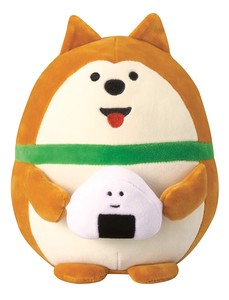 """concombre"" concombre Puffy Mascot Rice Ball Dog"