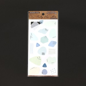 Ca Japanese Paper Masking Sticker blue