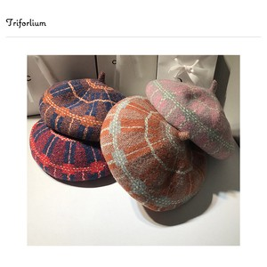 [2019NewItem] 5 Colors Knitted Material Beret