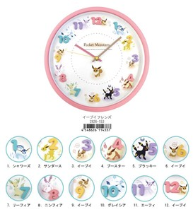Next Time Undecided Pokemon Icon Wall Clock Lens
