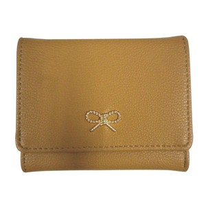 Twist Ribbon Metal Fittings Series Ribbon Wallet [ 2020NewItem ]