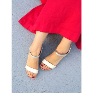 [ 2020NewItem ] Reserved items Bi-Color Strap Sandal Sandal Shoe Heel
