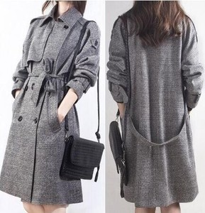 A/W Leisurely Lean Warm Coat