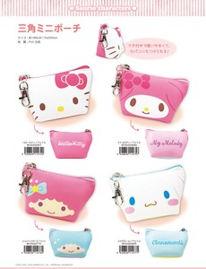 Sanrio Triangle Mini Pouch Face