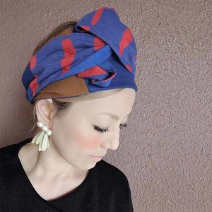 Blue Red Turban Control freely